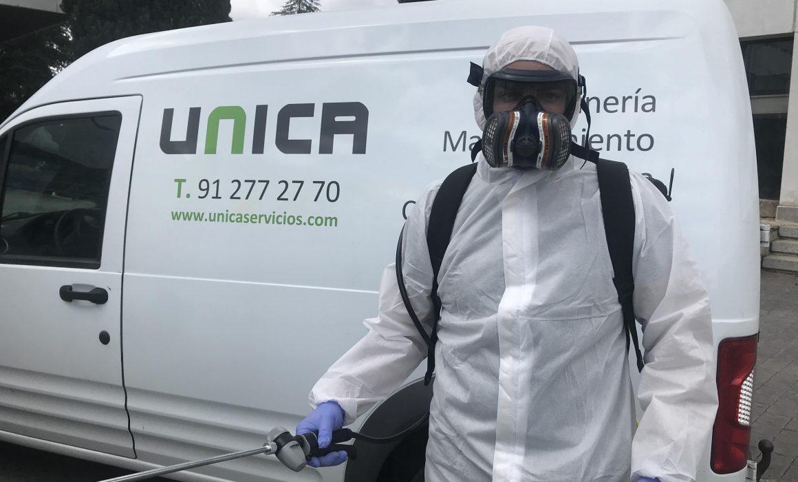 Unica servicios de desinfeccion