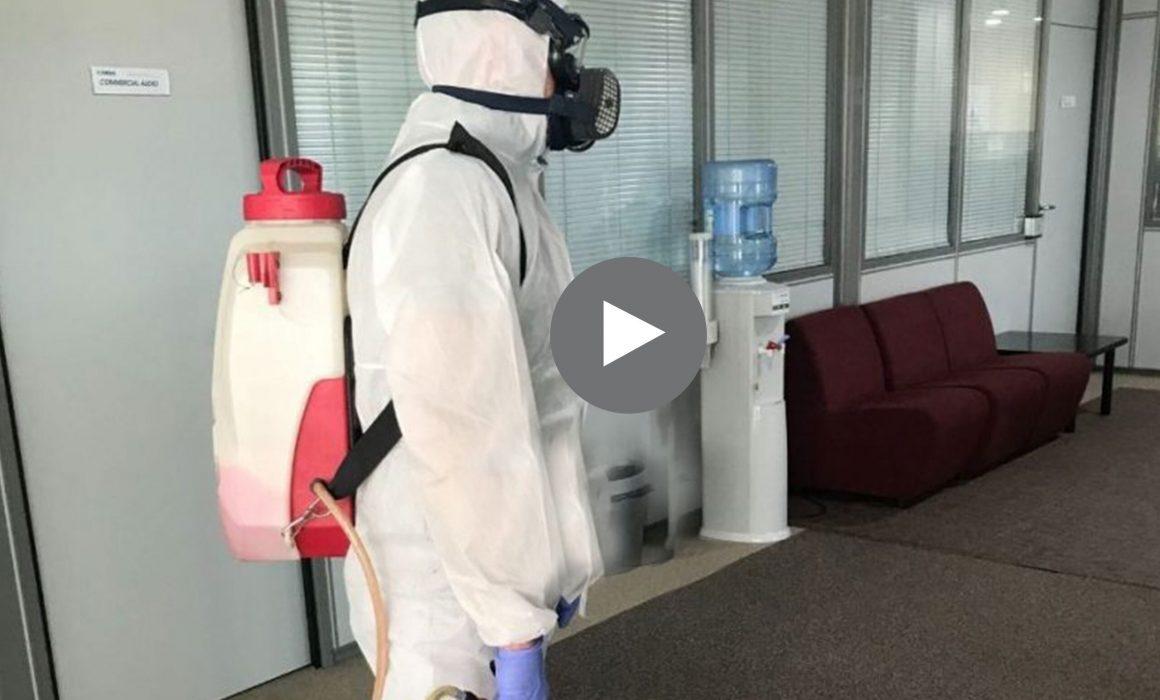 Desinfeccon oficina-Unica servicios